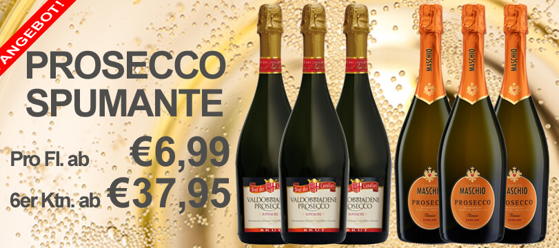 Prosecco im Angebot