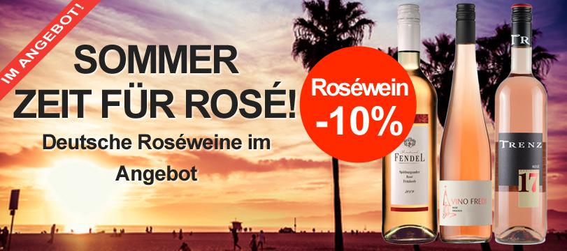 Deutscher Roséwein im Angebot