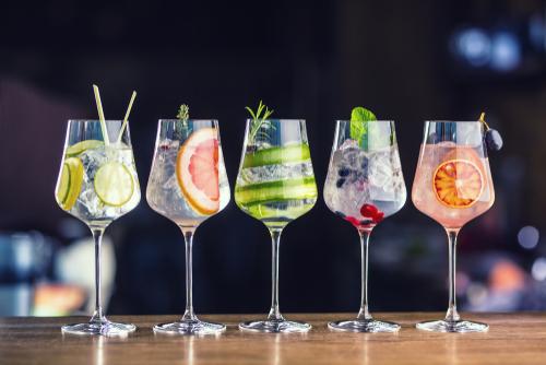 Klassiche Gin Cocktails